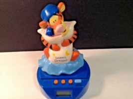 Disney Winnie The Pooh Tigger Alarm Clock Sweet Dreams - $20.57