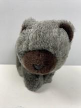 "24K Polar Puff Plush Bear Codi Gray Brown 9"" 1989 Canada Stuffed Animal Toy - $49.49"