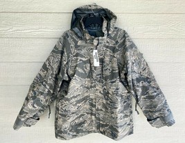 NWT GENUINE USAF APECS ABU GORE TEX TIGER STRIPE ALL PURPOSE PARKA - LAR... - $133.65