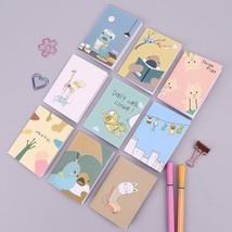 XUES® 9PCS/Lot Mini Cute Kawaii Cartoon Animals Journal Diary Notebook F... - $2.91