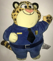 "Disney Zootopia CLAWHAUSER Stuffed Tiger Pillow Plush Animal 11"" Tall - $11.87"