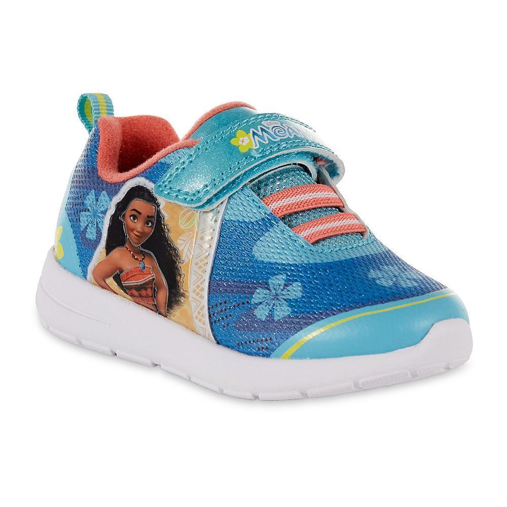 NEW Disney Princess Moana Sneakers Toddler Child Size 8 9 10 11 or 12