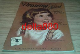 1950's Walter T Foster Drawing In Charcoal Book By Charles Lasalle Risque! Nice! - $16.95