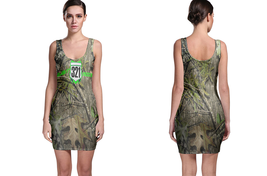 JUST RIDE 321 REALTREE AP CAMO BODYCON DRESS - $20.99+