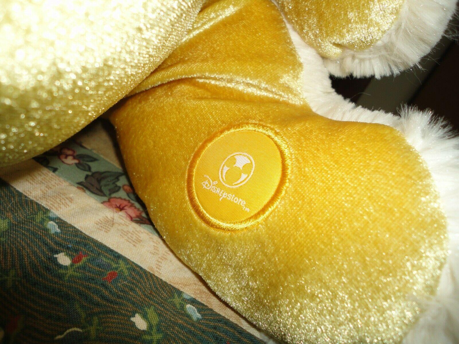 "Disney Exclusive Large TIGGER  & EEYORE Set 2 Stuffed Plush 18"" NEW Gold & Beige"