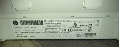 Office HP Deskjet 2542 All-In-One Inkjet and 39 similar items