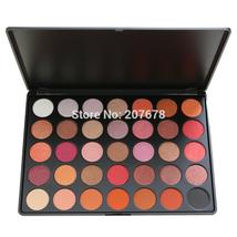35 Color Eyeshadow Palette Silky Powder Professional Nature Make up Pall... - $21.16