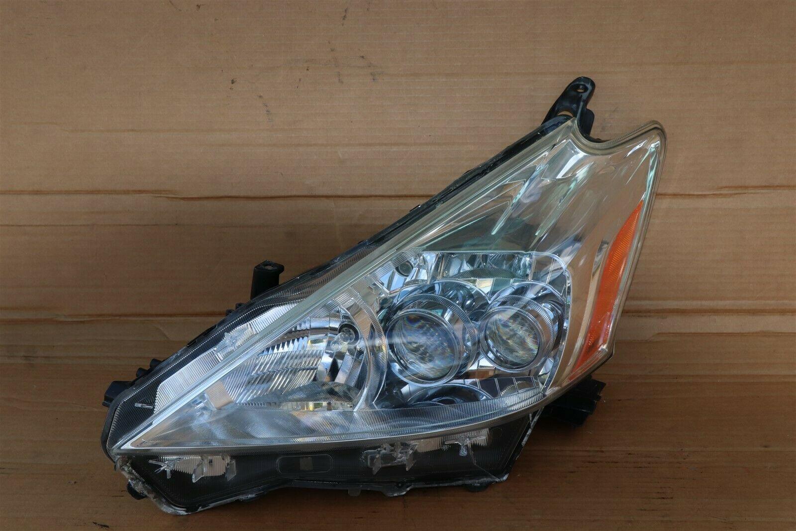 12-14 Toyota Prius-V Headlight Lamp Full LED Driver Left LH