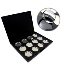 Empty Magnetic Eye shadow Pigment Removable Aluminum Palette Pans Makeup... - $12.19