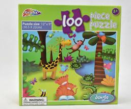 Jungle Edition Puzzle [100 Pieces] By Grafix Animals - $14.80