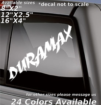 Chevy Durmax Diesel Custom lettering decal sticker bumper glass body tailgate  - $5.99+
