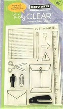 Hero Arts Just a Note Stamp Set #CL404 - $8.09