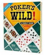 Poker's Wild! by Jax Family Board Card Game (Pokers Wild) - $39.42 CAD