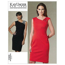 Vogue V1205 Women Dress Formal  Holiday Party 8-14 Kay Ungee U/C Sewing ... - $14.82