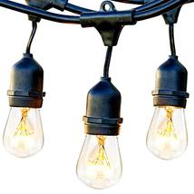 Brightech Ambience Pro - Waterproof Outdoor String Lights - Hanging Vint... - $62.25