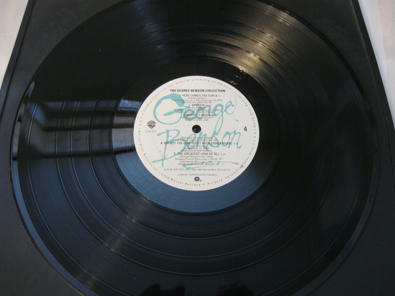 The George Benson Collection Warner Bros 2HW 3577 Stereo Vinyl Record LP Album image 11