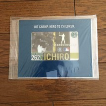 Starbucks ICHIRO Achieved New Record of 262 Hits 2004 Card Limited - $82.60