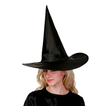 Halloween Party Cosplay Oxford Cloth Cone-shaped Witch Hat - $6.39