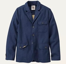 $198 Timberland Men's MT. Hayes Wool Blend Dark Navy Travel Jacket #8238... - $89.75