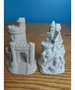 Vintage 1984 Mr. Sandman Sand Castle Sculptures Set of 2 - $24.70