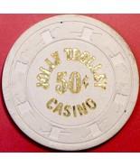 $1 Casino Chip. Jolly Trolley, Las Vegas, NV. 1981. W15. - $12.50