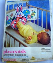 Kenner Playtentials Thumpy Bunny Kick Mat Crib Toy Find me Booties Gener... - $233.75