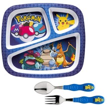 Zak Designs POKE-2070 Dinnerware Set, 0, Pikachu - $24.46