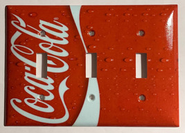 Coke Coca Cola Logo Light Switch Power Outlet wall Cover Plate Home decor image 11