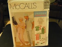 McCall's 9123 Adult's Lab Coat Dress Top Pants Hat & Tie Belt Pattern - ... - $8.39
