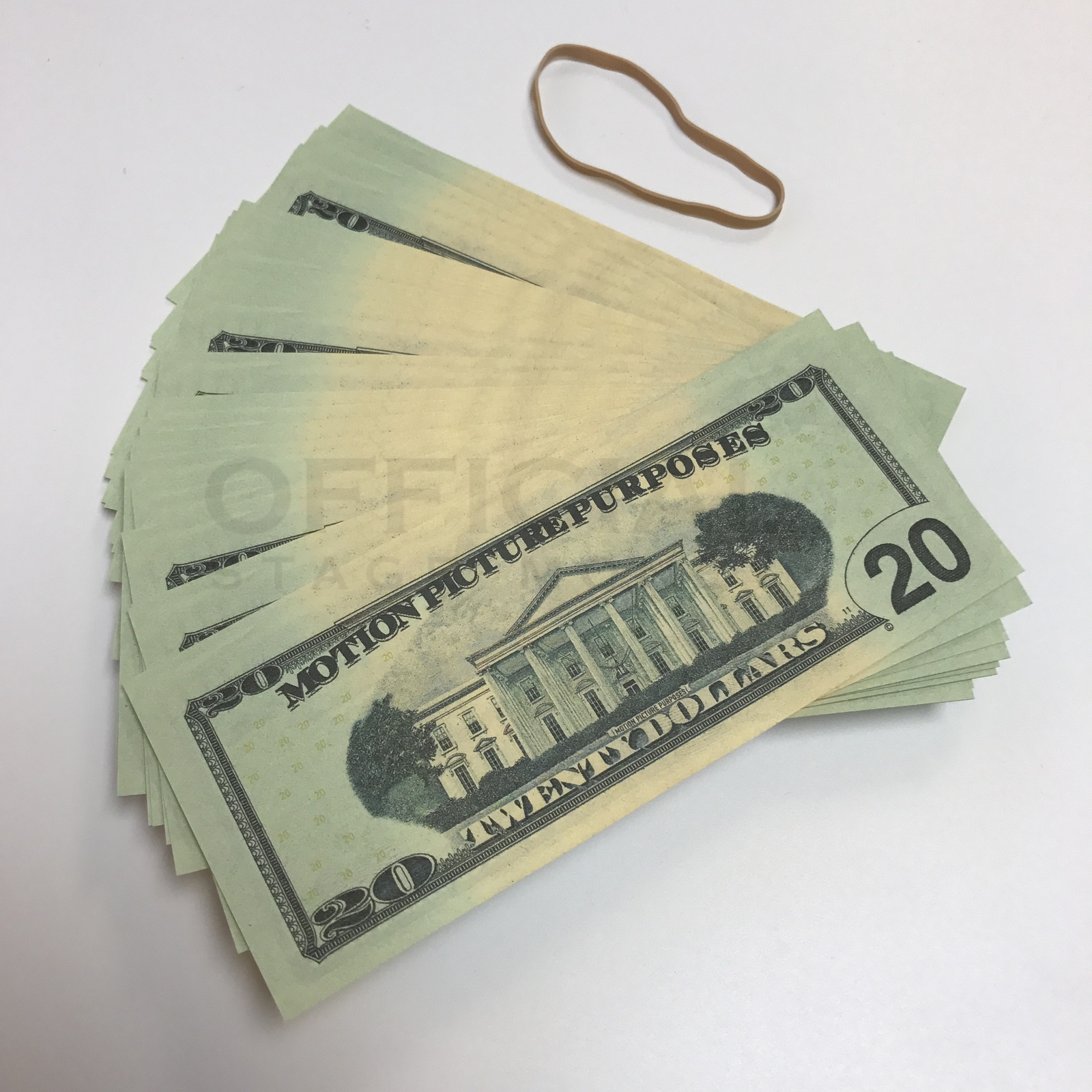 $2,000 Best Stage Fake Prop Money Fat Band For Film ...