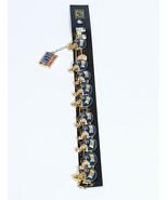 Peter David 8 HELMENTS ,1 FLAG New York Giants NFL Apparel Bracelet  - $7.13