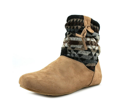 BEARPAW® Amber Packable Travel Bootie with Drawstring Bag, Taupe 7 - €31,90 EUR