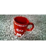 """-161- M&M's Red Cup Mug """"You Crack Me Up"""" - $20.25"""