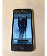 Apple iPod Touch 16GB 5th Generation A1509 Cracked Screen Powers On As Is - $46.55