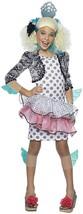 Lagoona Blue Monster High Small Fancy Dress, Wig, Halloween Child Costume NEW - $21.26
