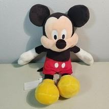 "Disneys Mickey Mouse Plush Soft Toy Size 9""  - $10.79"