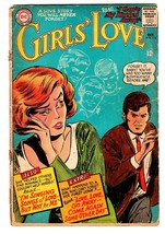 GIRLS' LOVE STORIES #114 comic book-DC ROMANCE-GREAT COVER - $17.65