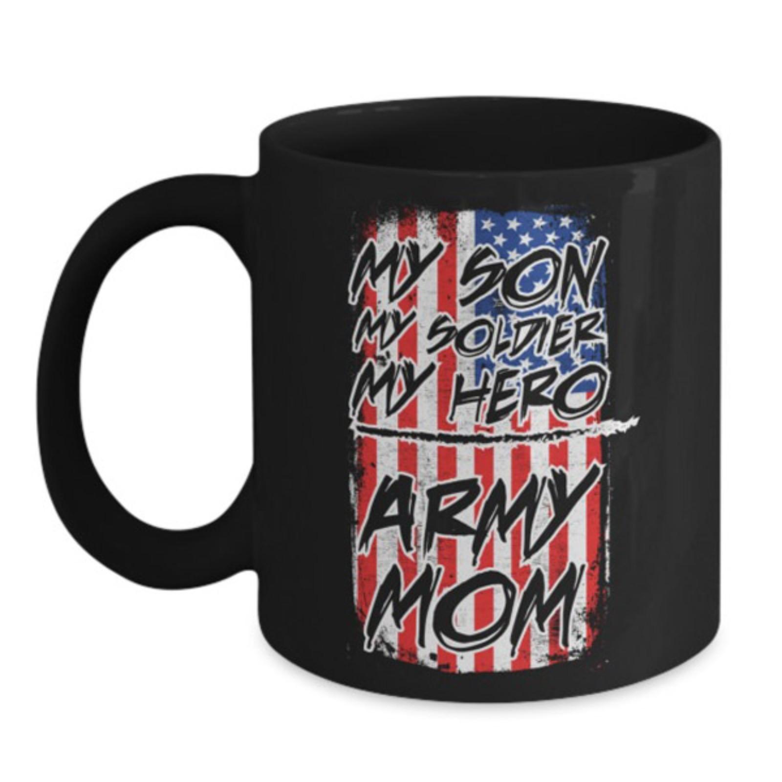 Proud Us Military Amy Mom Coffee Mug And 50 Similar Items