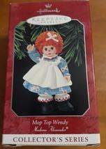 Mop Top Wendy Madame Alexander 1996 Hallmark Keepsake Ornament Christmas - $6.88
