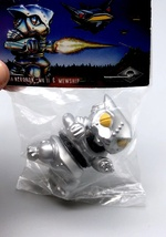 Max Toy Metallic Silver Mini Mecha Nekoron - Mint in Bag image 3