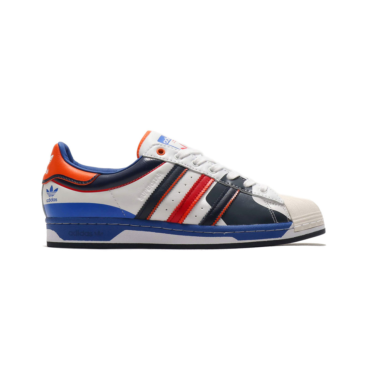 Primary image for Adidas Superstar (The Starting Five/ Multicolor White/ Blue) Men 8-13