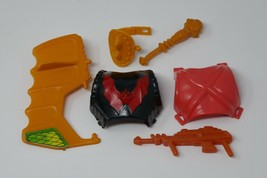 He-Man Masters Of The Universe MOTU Armor Weapon Lot Hordak Stinker Webstor - $39.59