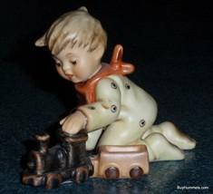 "LIMITED EDITION ""Playtime Express"" Goebel Hummel Figurine #2112/D Boy Wi... - $169.74"