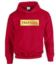 CC Bryson Tiller Trapsoul Hoodie Red (Gold Print) - $29.99