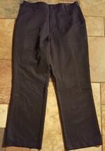 Men's Adidas Black Climalite Pants Sz 33 Inseam 30 Euc - $19.79