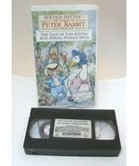 1993 Beatrix Potter Tale of Tom Kitten & Jemima Puddle Duck VHS Movie  - $12.38