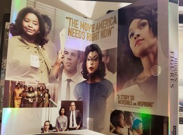 Hidden Figures [4K Ultra HD+Blu-ray, 2017] Includes fold out slipcover image 2