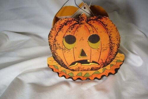 Bethany Lowe Sassy Pumpkin  Bucket for Halloween