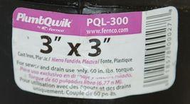 Fernco PQL300 Three Inch 90 Degree Flexible Qwik Ell Elbow image 4