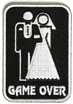Game Over Marriage Patch - 2x3 inch - $5.89